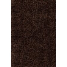 Luster Shag Brown Rug