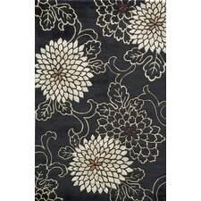 Koi Black/White Rug