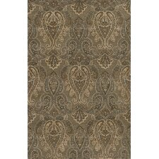 Imperial Court Teal Rug