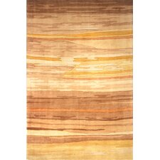 New Wave Gold Area Rug