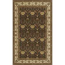 Persian Garden Brown Area Rug