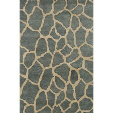 Serengeti Soil Teal Area Rug