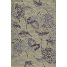Summit Bold Floral Lilac Area Rug