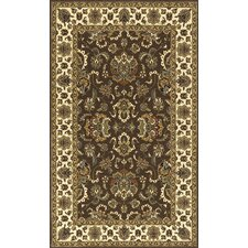 Persian Garden Brown/Orange Area Rug