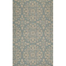 Suzani Hook Blue Rug