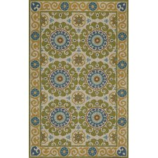 Suzani Hook Lime Rug