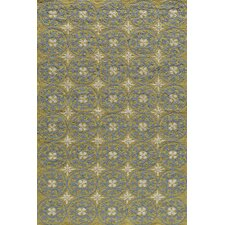Veranda Yellow/Blue Outdoor Rug