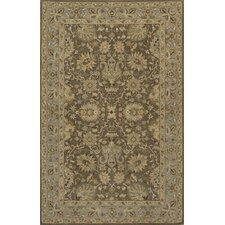 Zarin Mocha/Brown Area Rug