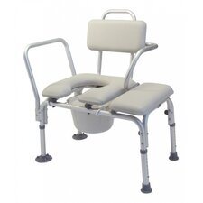 Commode Transfer Tub Bench with Tub Clamp and Swing Arm
