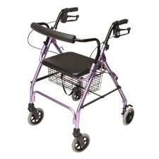 Walkabout Lite Four-Wheel Rolling Walker