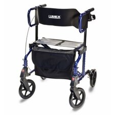 Hybrid Rollator Transport Chair
