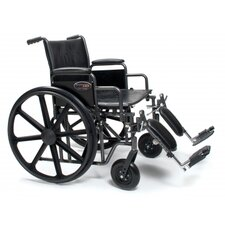 <strong>Everest & Jennings</strong> Traveler HD Bariatric Wheelchair