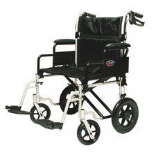 "24"" Bariatric Transport Wheelchair"