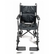 Steel Transport Ultra Lightweight Wheelchair