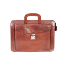 Mini Leather Briefcase