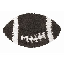 Shaggy Raggy Football Kids Rug