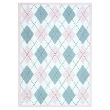Haywood Pink/Gray Kids Rug