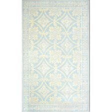 Romantic Chic Romantic Lace Blue Rug