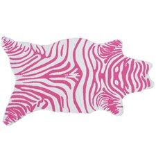 Mini Zebra Pink Novelty Rug