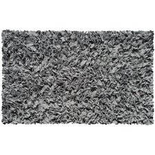 Shaggy Raggy Grey Rug