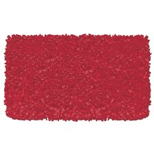 Shaggy Raggy Red Rug