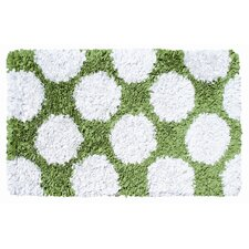 Polkamania Lime/White Kids Rug
