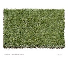 Grazin' In The Grass Green Outdoor Rug