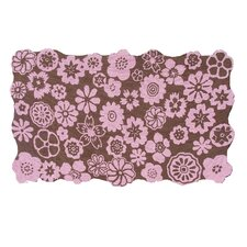 Petunia Brown Kids Rug