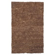 Frisco Dotted Motion Brown Rug