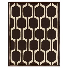 <strong>The Rug Market</strong> Resort Brown/Ivory Rug