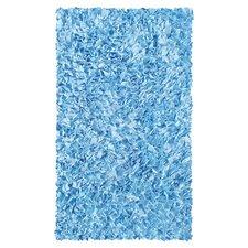 Shaggy Raggy Blue Area Rug