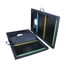 2-in-1 Tournament Bag Toss and Ladder Toss Set