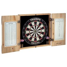 Rush Creek Dartboard Cabinet