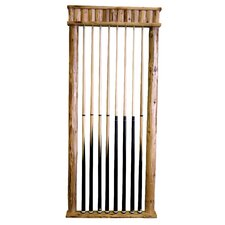 8 Cue Hanging Wall Rack