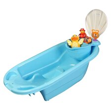 The Potty Scotty  2 in 1 Bath Tub with Toy Organizer in Blue