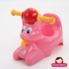 The Potty Patty Riding Potty Chair in Pink