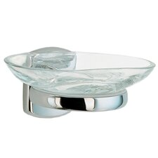 Cabin Holder with Glass Soap Dish