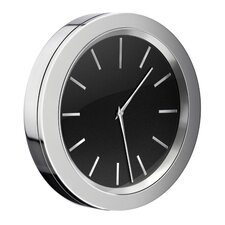 "<strong>Smedbo</strong> 3"" Self Adhesive Bathroom Mirror Wall Clock"