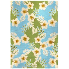 Surfer Hibiscus Indoor/Outdoor Rug