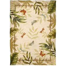 Butterflies and Dragonflies Rug