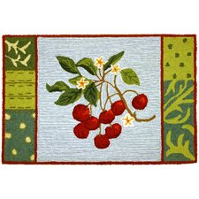 Cherry With Blossoms Rug