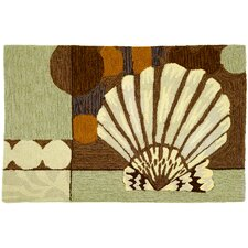 <strong>Homefires</strong> Ocean Clam Shell Rug