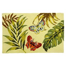 Bamboo Butterfly Rug