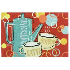 Coffee Break Novelty Rug