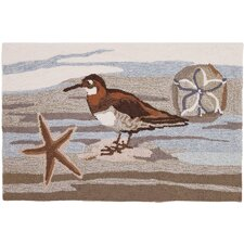 Coastal Collage Novelty Rug