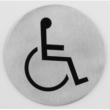 "Türsymbol ""Rollstuhl"""