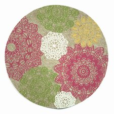 Ravella Crochet Pastel Indoor/Outdoor Area Rug