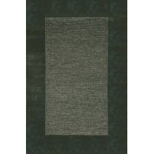 Madrid Charcoal Border Rug