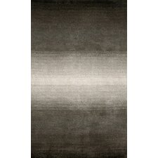 Ombre Grey Stripes Rug