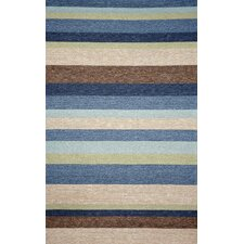 Ravella Stripe Denim Indoor/Outdoor Rug
